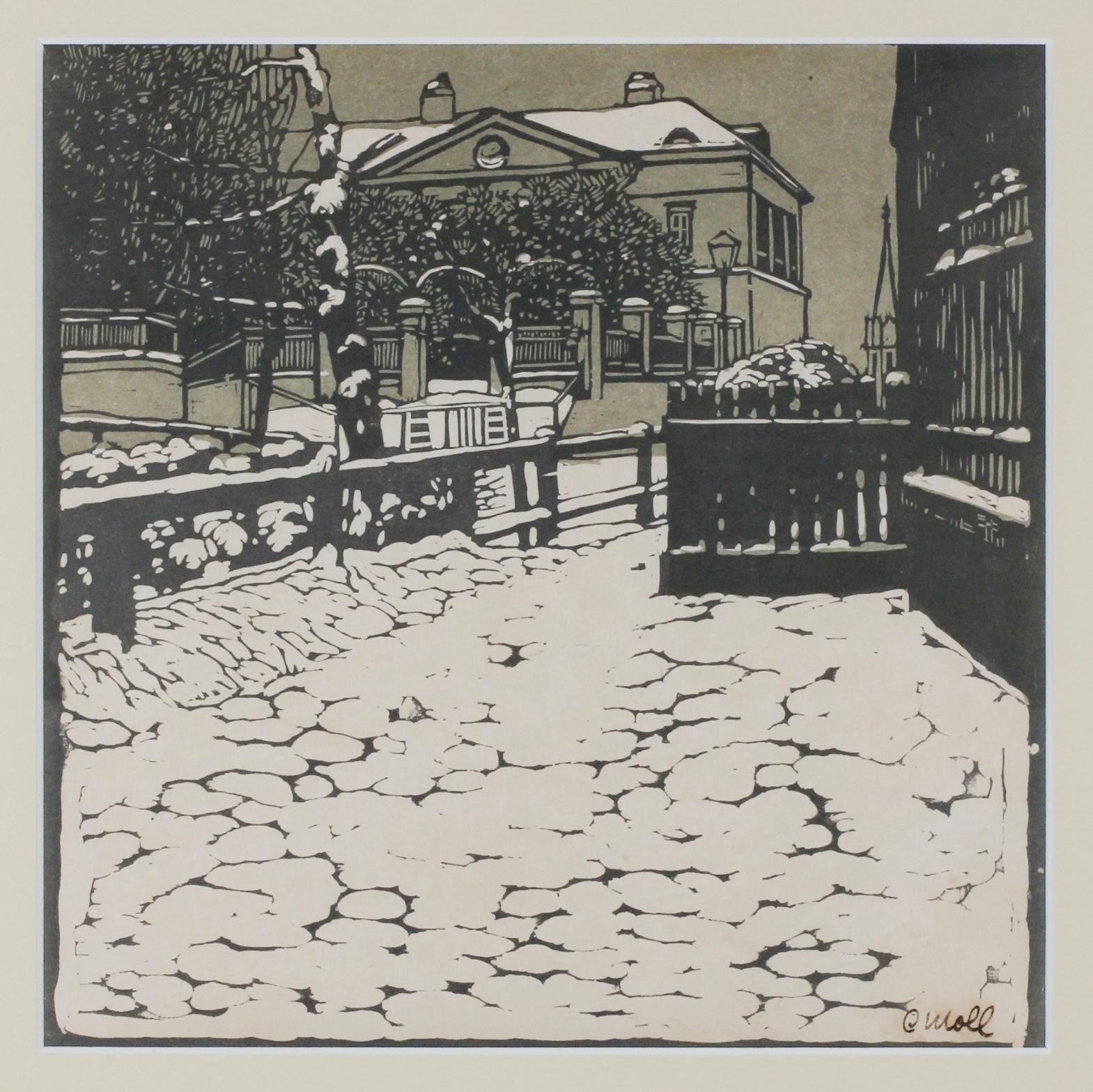 Galerie Hochdruck Farbholzschnitte Künstler M / color woodcuts artists M